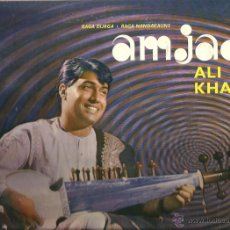 Discos de vinilo: LP AMJAD ALI KHAN : RAGA DURGA & RAGA NANDAKAUNS . Lote 45690649