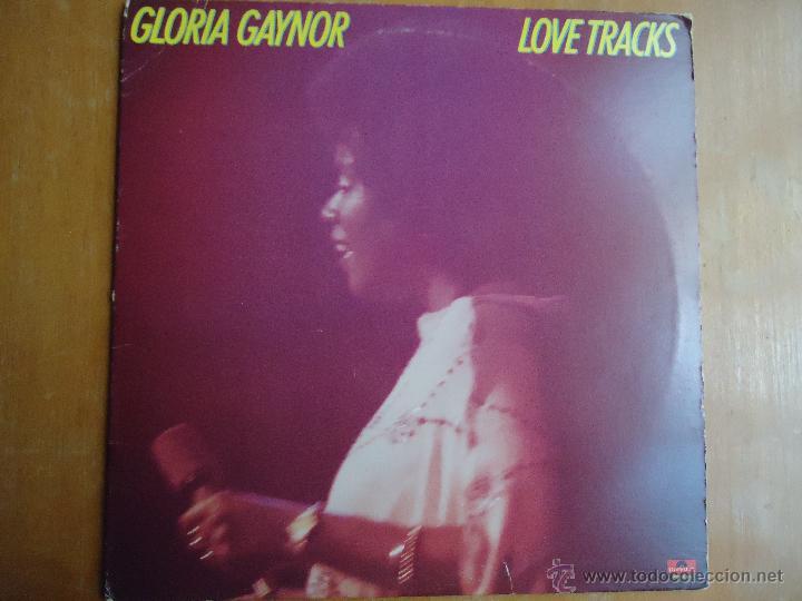 DISCO GRANDE VINILO RARO - GLORIA GAYNOR LOVE TRACKS - POLIDOR EDITADO NEW YORK (Música - Discos - Singles Vinilo - Otros estilos)