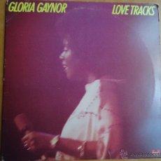 Discos de vinilo: DISCO GRANDE VINILO RARO - GLORIA GAYNOR LOVE TRACKS - POLIDOR EDITADO NEW YORK. Lote 45694406