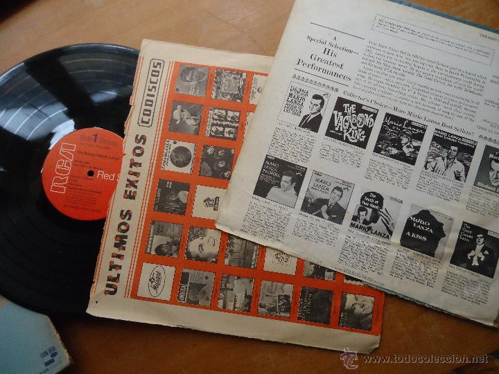 Discos de vinilo: DISCO GRANDE VINILO RARO - the best of mario lanza , rca red seal , printed usa - Foto 3 - 45694530