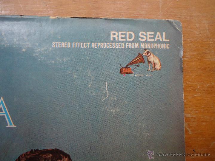 Discos de vinilo: DISCO GRANDE VINILO RARO - the best of mario lanza , rca red seal , printed usa - Foto 6 - 45694530