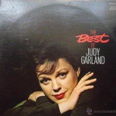 Discos de vinilo: DISCO GRANDE VINILO RARO - THE BEST OJ JUDY GARLAND , DOBLE DISCO 1973 PRINTED USA . DOS DISCOS. Lote 45694551