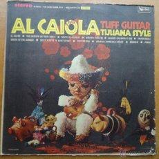 Discos de vinilo: DISCO GRANDE VINILO RARO - AL CAIOLA TUFF GUITAR TIJANA STYLE . FUENTES EDITADO COLOMBIA. Lote 45694612