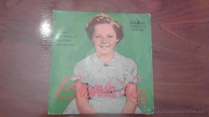BRENDA LEE (Música - Discos - Singles Vinilo - Pop - Rock Extranjero de los 50 y 60)