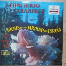 Discos de vinilo: CONCIERTO DE ARANJUEZ NOCHES EN LOS JARDINES DE ESPAÑA JOAQUIN RODRIGO NARCISO YEPES 1974. Lote 45703792