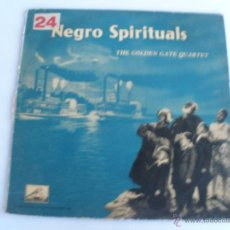 Discos de vinilo: THE GOLDEN GATE QUARTET - NEGRO SPIRITUALS. Lote 45706527