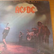 Discos de vinilo: AD DC LET THER BE ROCK LP. Lote 93169668