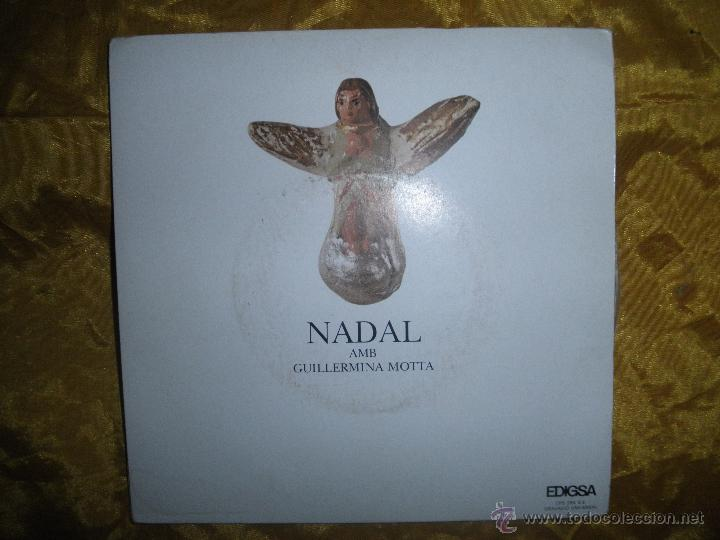 NADAL AMB GUILLERMINA MOTTA. EDIGSA 1973. EP. EDICION ESPECIAL PARA LA CAIXA MANRESA. IMPECABLE (Música - Discos de Vinilo - EPs - Solistas Españoles de los 70 a la actualidad)