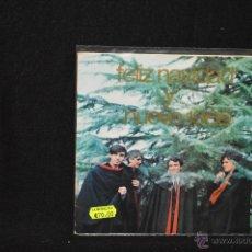 Discos de vinilo: LOS BRINCOS - FELIZ NAVIDAD 1966 - SINGLE. Lote 75967831