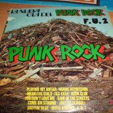 Discos de vinilo: F.U.2 LA NUEVA OLA DEL PUNK ROCK PORTADA SOLO ESPAÑA DIFICIL BUEN ESTADO. Lote 45712970