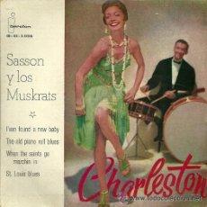 Discos de vinilo: SASSON Y LOS MUSKRATS EP SELLO IBEROFON AÑO 1960. Lote 45713187