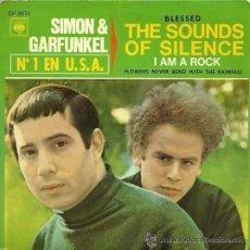 Discos de vinilo: SIMON & GARFUNKEL EP SELLO CBS AÑO 1966. Lote 45713245