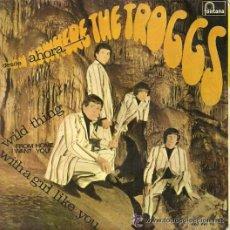 Discos de vinilo: THE TROGGS EP SELLO FONTANA AÑO 1966. Lote 45713286