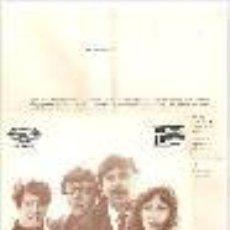 Discos de vinilo: THE JOHNSTONS SINGLE SELLO MOVIEPLAY AÑO 1969 EDITADO EN ESPAÑA CON HOJA PUBLICITARIA. Lote 45713741