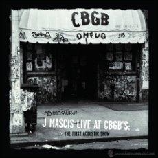 Discos de vinilo: LP J MASCIS LIVE AT CBGB'S :THE FIRST ACOSUTIC SHOW VINILO COLOR LTD 1500 DINOSAUR JR. Lote 45718162