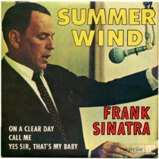 Discos de vinilo: FRANK SINATRA - SUMMER WIND - EP FRANCE 1966 - REPRISE RECORDS RVEP 60094. Lote 45719921