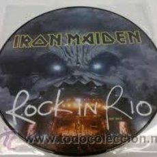 Discos de vinilo: IRON MAIDEN - ROCK IN RIO ( RIR 38643 LP PICTURE ). Lote 221790118