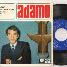 Discos de vinilo: ADAMO - TU NOMBRE + 3 (EP EMI 1966 SPAIN). Lote 45725397