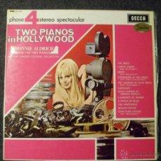 Discos de vinilo: TWO PIANOS IN HOLLYWOOD. RONNIE ALDRICH. LONDON FESTIVAL ORCHESTRA. VINILO LP. Lote 45726940
