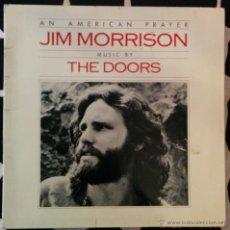 Discos de vinilo: JIM MORRISON MUSIC BY THE DOORS, AN AMERICAN PRAYER LP. Lote 45727643