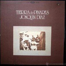 Discos de vinilo: JOAQUIN DIAZ - TIERRA DE PINARES - 1978. Lote 45728396