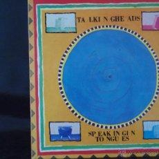 Discos de vinilo: TALKING HEADS SPEAKING IN TONGUES 1983. Lote 45728806