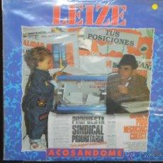Discos de vinilo: LEIZE - ACOSANDOME - LP. Lote 62039256