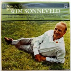 Discos de vinilo: WIM SONNEVELD - MUSIC FOR THE MILLIONS - LP PHILIPS 1982 HOLANDA BPY. Lote 45740284