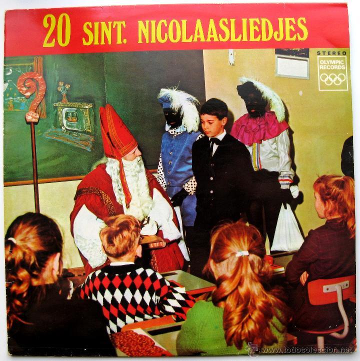 KINDERKOOR DE MARKBLOEMPJES - 20 SINT NICOLAASLIEDJES - LP OLYMPIC RECORDS HOLANDA BPY (Música - Discos - LPs Vinilo - Música Infantil)