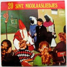 Discos de vinilo: KINDERKOOR DE MARKBLOEMPJES - 20 SINT NICOLAASLIEDJES - LP OLYMPIC RECORDS HOLANDA BPY. Lote 45746056