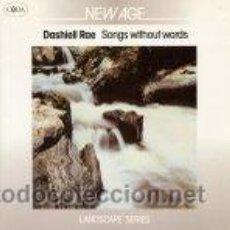 Discos de vinilo: DASHIEL RAE - SONGS WITHOUT WORDS (LP). Lote 45746376