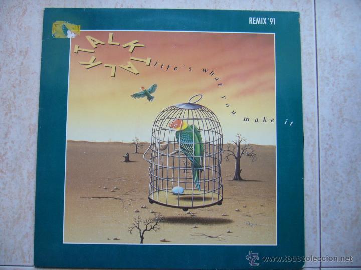 TALK TALK - LIFE'S WHAT YOU MAKE IT (Música - Discos de Vinilo - Maxi Singles - Pop - Rock Internacional de los 90 a la actualidad)