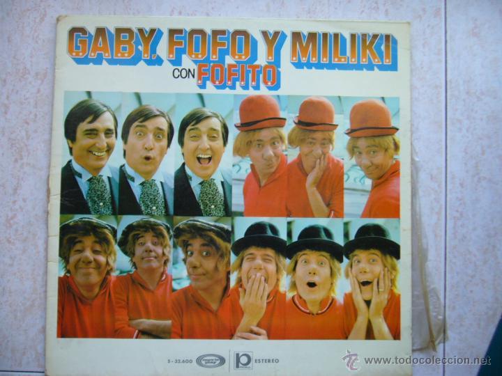 GABY FOFO Y MILIKI CON FOFITO (Música - Discos - LPs Vinilo - Música Infantil)