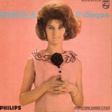 Discos de vinilo: SHEILA, EP, UN MONDE SANS AMOUR (BEATLES) + 3, 19?? ( MADE IN FRECH) FRANCE. Lote 45752744