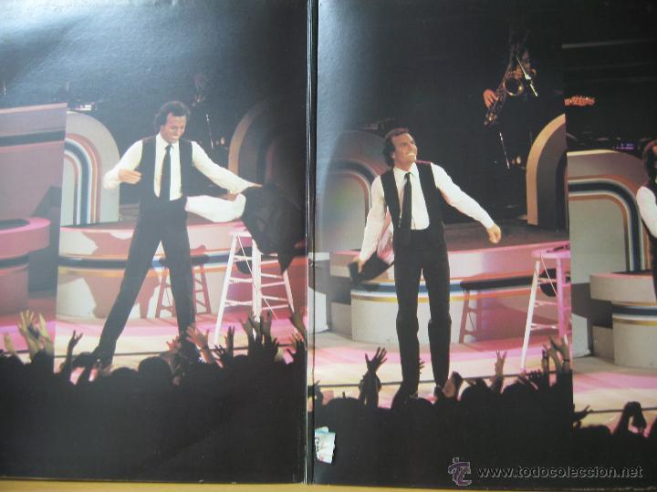 Discos de vinilo: Julio Iglesias en concierto doble LP. - Foto 2 - 45763830