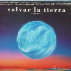 Discos de vinil: EARTHRISE,SALVAR A LA TIERRA(U2,PINK FLOYD Y OTROS)EDICION ESPAÑOLA DEL 92. Lote 45764409