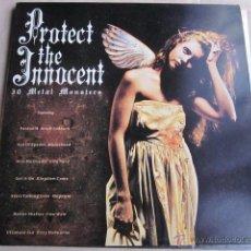 Discos de vinilo: PROTECT THE INNOCENT - 30 METAL MONSTERS - DOBLE LP - VER DESCRIPCION.. Lote 45766063