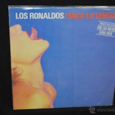 Discos de vinilo: LOS RONALDOS - SACA LA LENGUA - LP. Lote 45766661