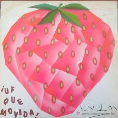 Discos de vinilo: VANDALEON - ¡UF QUÉ MOVIDA! . MAXI SINGLE . 1983 FRESA . Lote 45768310