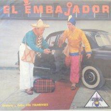 Discos de vinilo: LOS TOLIMENSES - EL EMBAJADOR . LP . DISCOS CEIDA COLOMBIA - LDZ 20131. Lote 45768777