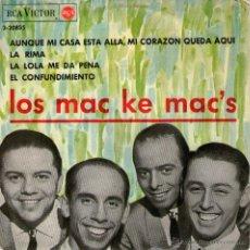 """Discos de vinilo: LOS MAC KE MAC'S - EP SINGLE VINILO 7"""" - EDITADO ESPAÑA - LA LOLA ME DA PENA + 3 - RCA VICTOR 1964. Lote 45770691"""