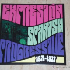 Discos de vinilo: EXPRESION -SPANISH PROGRESSIVE -1971-1977-LP-VINILO-JOYA!!MINT!!(PRE MEZQUITA). Lote 178997187
