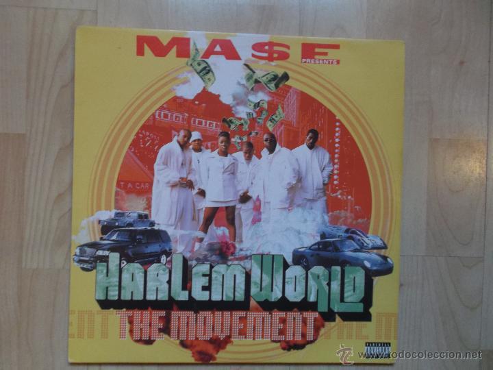 HARLEM WORLD THE MOVEMENT 1999 USA 2 LPS, RAP / HIP HOP (Música - Discos - LP Vinilo - Rap / Hip Hop)