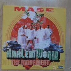 Discos de vinilo: HARLEM WORLD THE MOVEMENT 1999 USA 2 LPS, RAP / HIP HOP. Lote 45780039