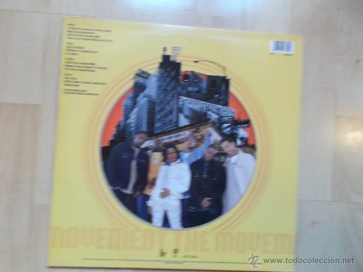 Discos de vinilo: HARLEM WORLD THE MOVEMENT 1999 USA 2 LPS, Rap / Hip Hop - Foto 2 - 45780039