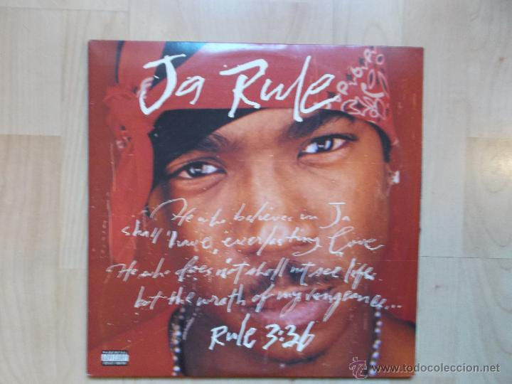 JA RULE RULE 3 36 DEF JAM RECORDINGS ED USA 2 LPS, RAP / HIP HOP (Música - Discos - LP Vinilo - Rap / Hip Hop)