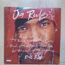 Discos de vinilo: JA RULE RULE 3 36 DEF JAM RECORDINGS ED USA 2 LPS. Lote 45780114