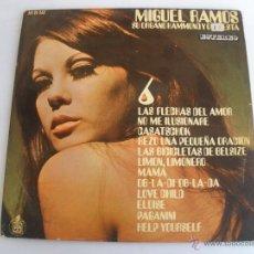 Discos de vinilo - MIGUEL RAMOS SU ORGANO HAMMOND Y ORQUESTA 6 - 45782603