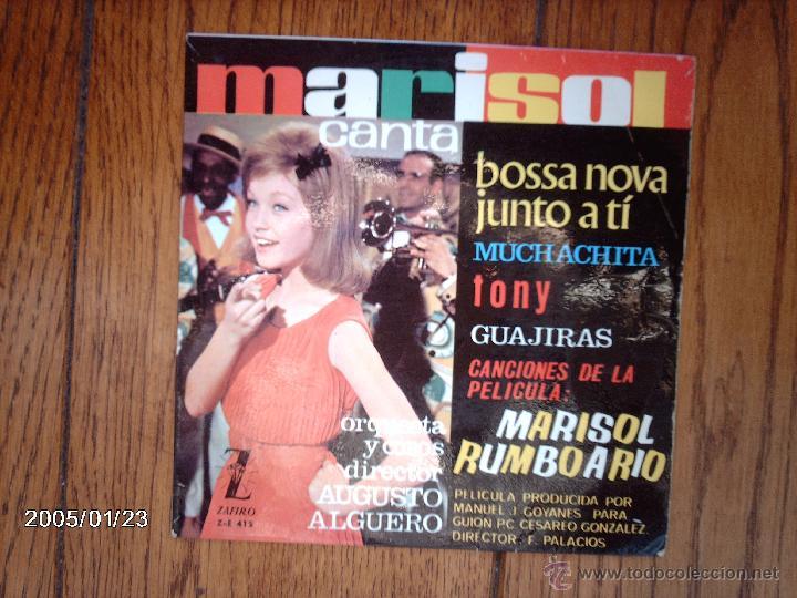 MARISOL - BOSSA NOVA JUNTO A TI + 3 (Música - Discos de Vinilo - EPs - Solistas Españoles de los 50 y 60)