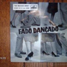 Discos de vinilo: MARIO SIMOES - FADO - DANÇADO - SINAL DA CRUZ + 3 EDICIÓN INGLESA . Lote 45787816